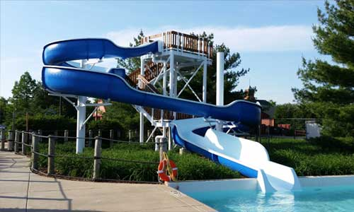 photo of waterslide